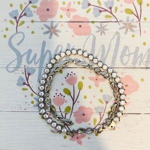 Two Macy's bracelets